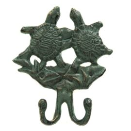 Verdigris Sea Turtles Hook