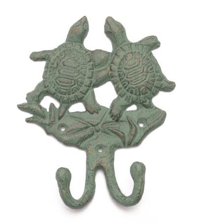 Verdigris Sea Turtles Hook