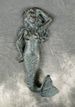 Verdigris Mermaid Tail Hook