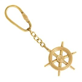 Ship Wheel Keyring