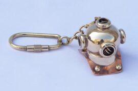 Diving Helmet on Key Chain