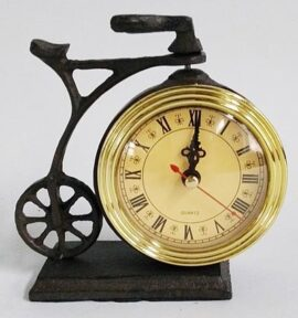 Old Fashioned Bicycle Clock