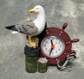 Seagull Nautical Alarm Clock