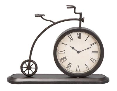 Old Fashioned Bicycle Shaped Clock