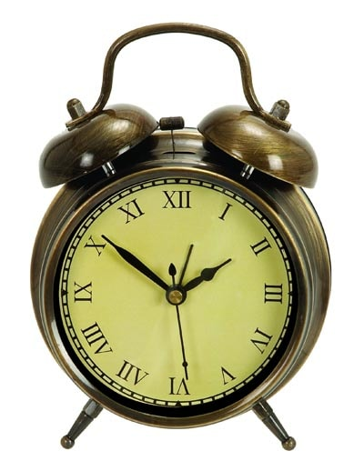 Vintage Style Alarm Clock Globe Imports