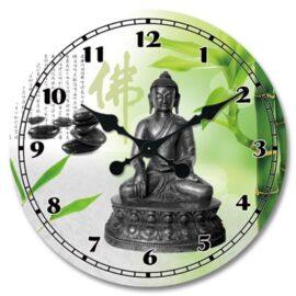 Oriental Buddha Wall Clock