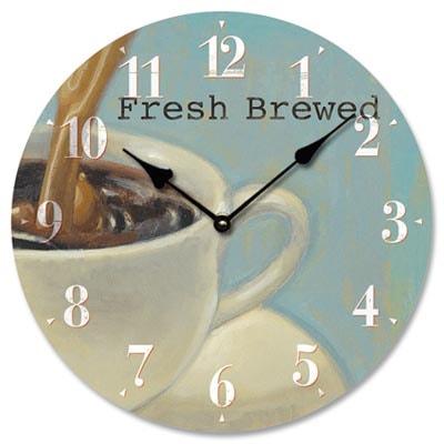 Coffee Kitchen Wall Clock