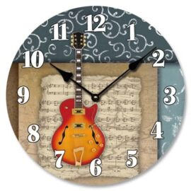 Music Theme Wall Clock