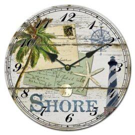 Shore Ceramic Wall Clock