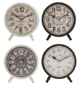 Assorted Vintage Style Clock