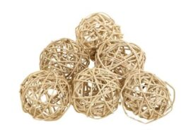 Set of 6 Decorative Balls