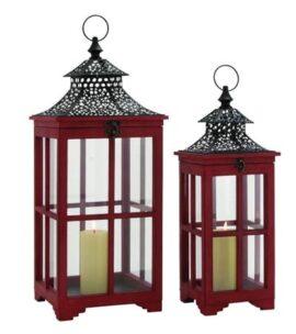 Set of 2 Chinese Style Lanterns