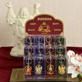 Assorted Good Fortune Buddha Key Chain