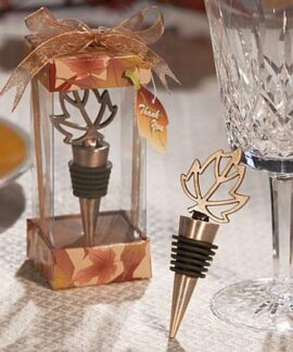 Leaf Wine Bottle Stopper