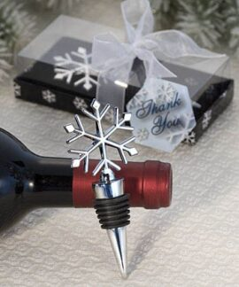 Snowflake Wine Bottle Stopper