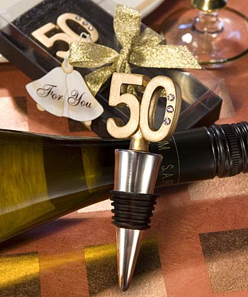 50th Anniversary Bottle Stopper