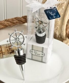 Ship's Wheel Bottle Stopper