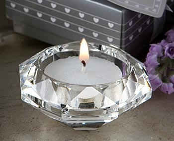 Crystal Tealight Candleholder