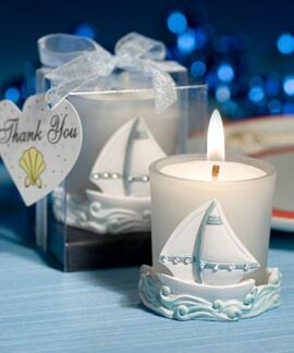 Sailboat Votive Candle