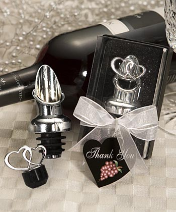 Double Hearts Bottle Stopper and Pourer