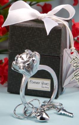 Engagement Ring Key Ring