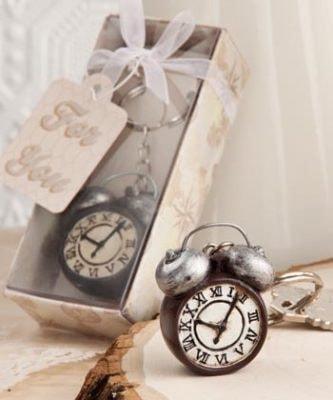 Antique Clock Key Ring