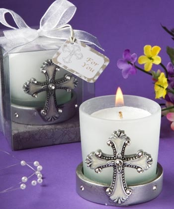 Cross Votive Candleholder