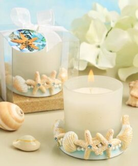 Beach and Shell Votive
