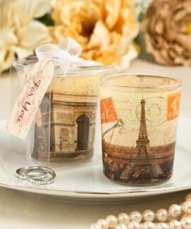 Parisian Glass Votive Candleholder