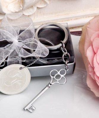 Key Shaped Key Ring