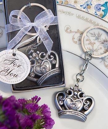 Crown Key Ring