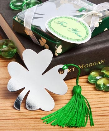 Four-Leaf Clover Bookmark