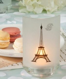 Eiffel Tower Tea Light Candle