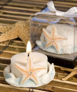 Starfish Tealight Candle