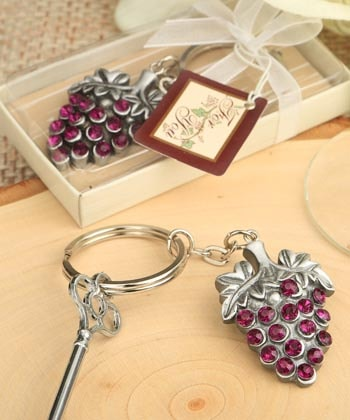 Wine Lover's Key Ring