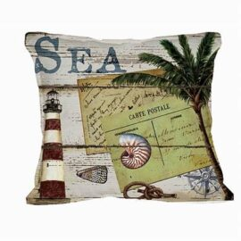 Sea Theme Nautical Pillow