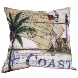 Coast Theme Nautical Pillow