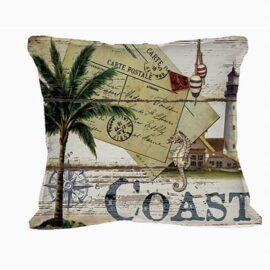 Coast Theme Nautical Pillow