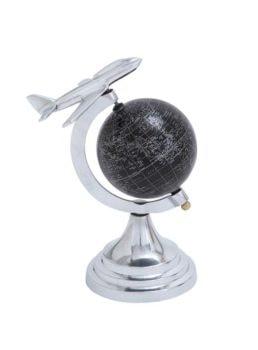 Globe with Jet Plane