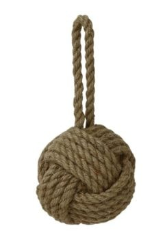 Knotted Nautical Rope Ball
