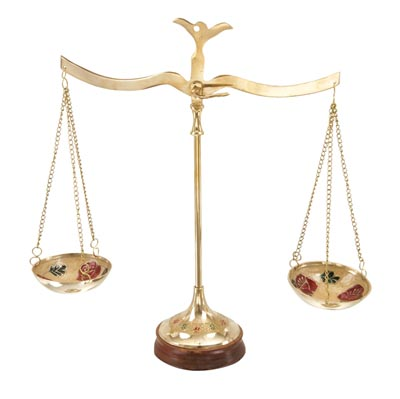 Decorative Brass Scale