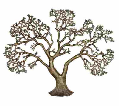 ba2793aa54 Metal Tree Wall Decor - Globe Imports