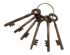 Antique Keys on Ring