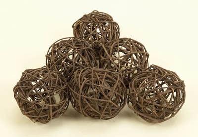 Set of Six Decorative Balls