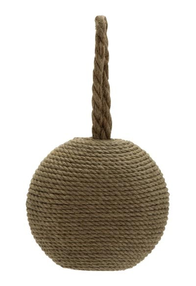 Nautical rope door stopper globe imports - Knot door stopper ...