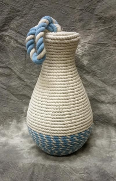 Nautical rope door stopper globe imports for Heavy rope for nautical use