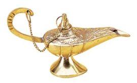 Brass Aladdin's Lamp