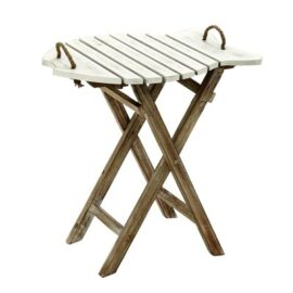 Wood Fish Folding Table