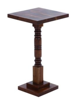 Wooden Pedestal Table