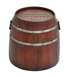 Wine Barrel Accent Table